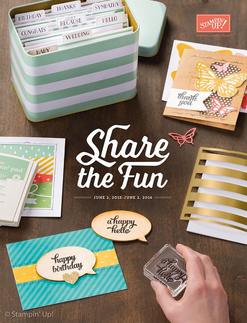 Stampin' Up! Jahres-Katalog 2014/2015